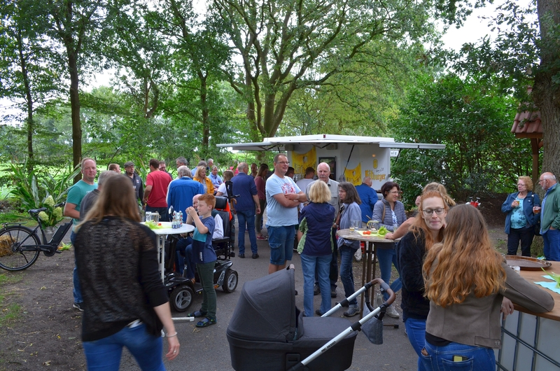 Feier am Melkbock in Westerholt Gemeinde Wardenburg. Organisiert von der ArGe Glum. Foto: Martina Korte stv. Pressewartin Bürgerverein Westerholt