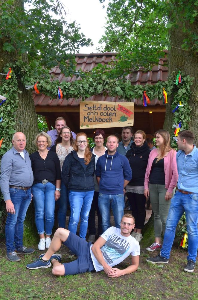 BV Westerholt Wardenburg - Organisationsteam Glum. Foto Martina Korte